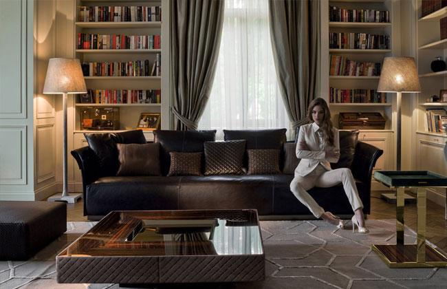 Диваны Longhi - коллекция Charme sofa