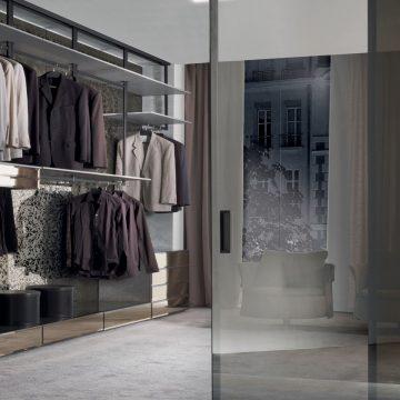 Системы для гардеробной Longhi Walk-in closet fly-system