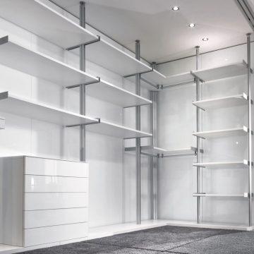 Системы для гардеробной Longhi Walk-in closet vertical