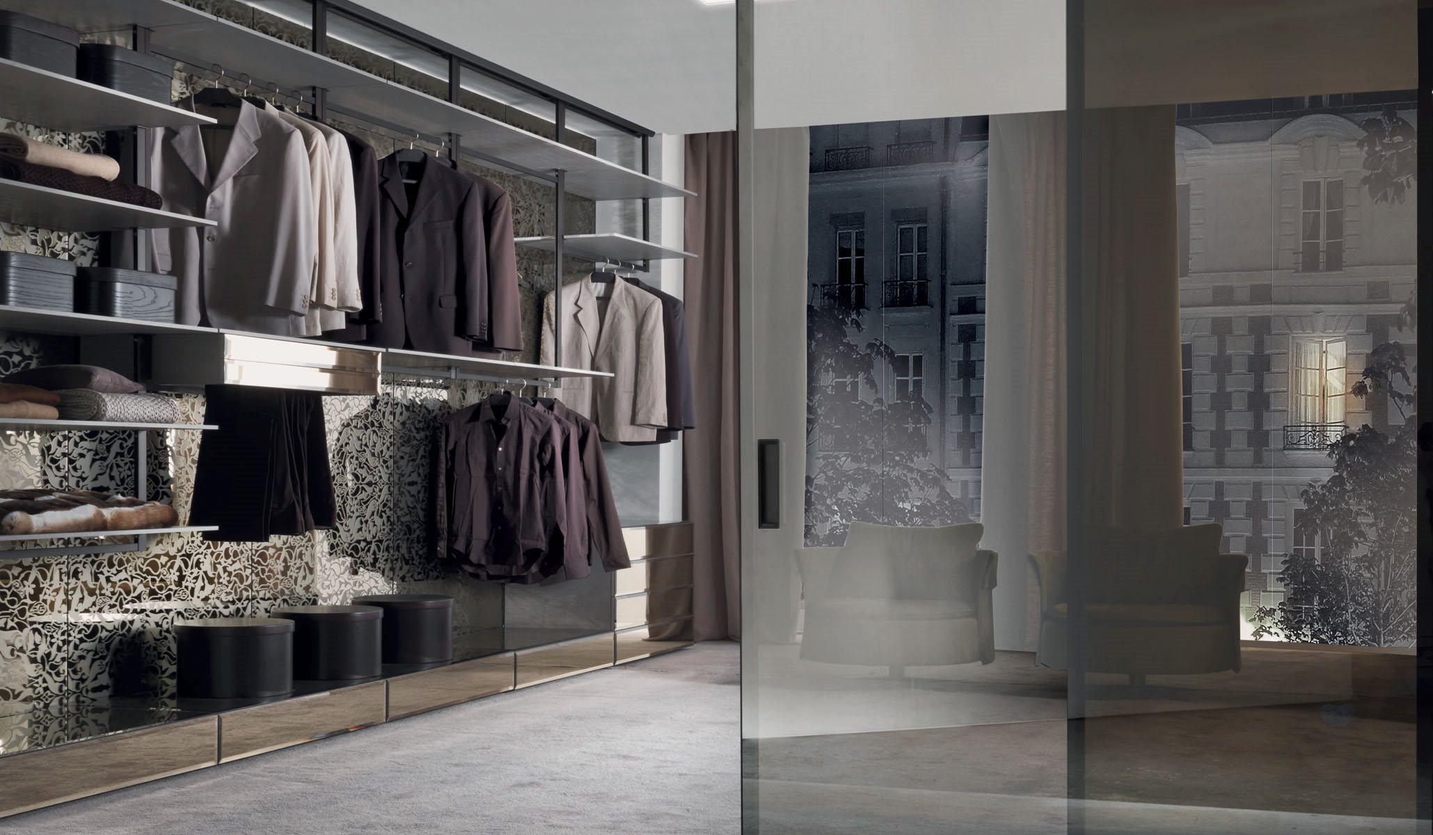 Системы для гардеробной Longhi Walk-in closet