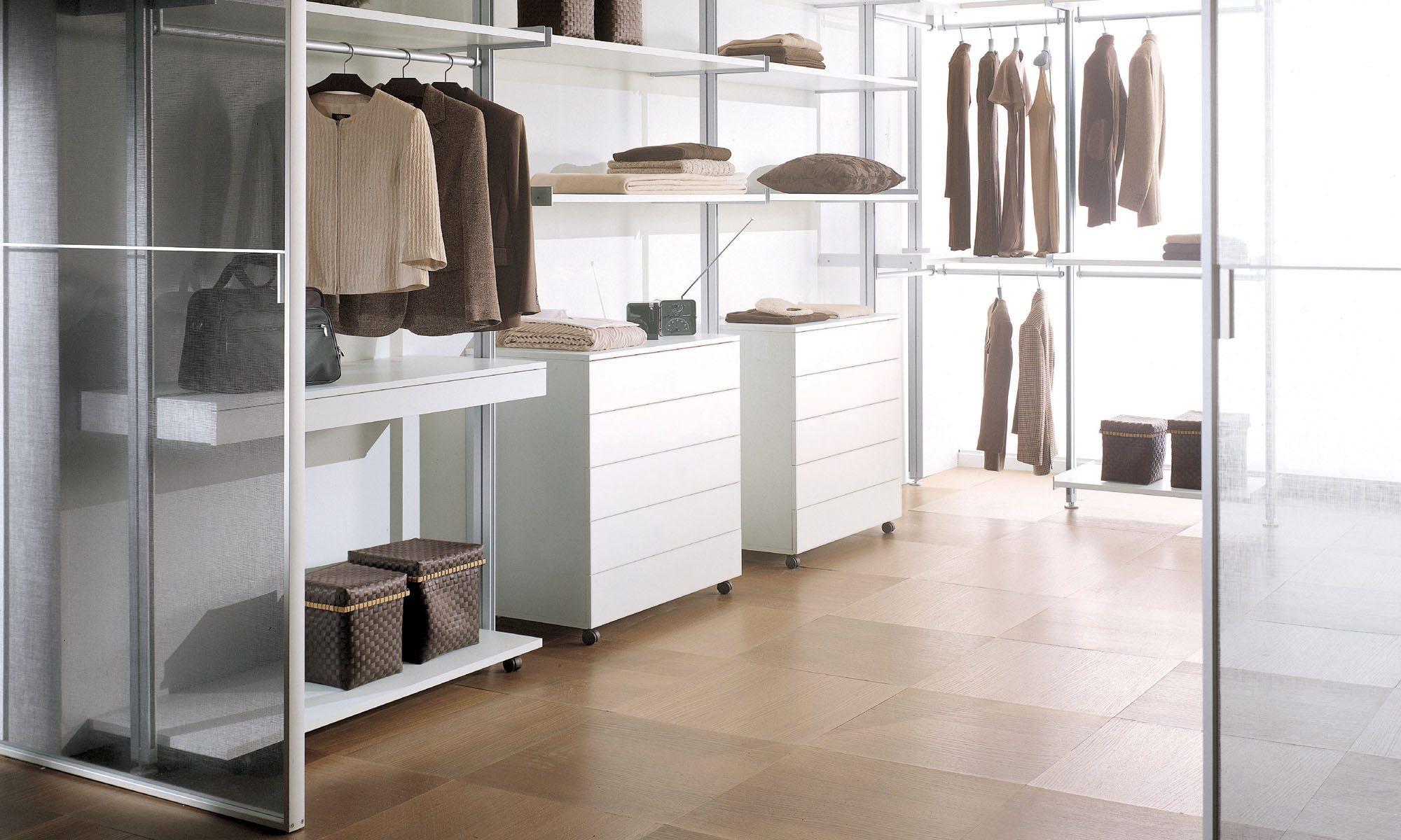 Системы для гардеробной Longhi Walk-in vertical